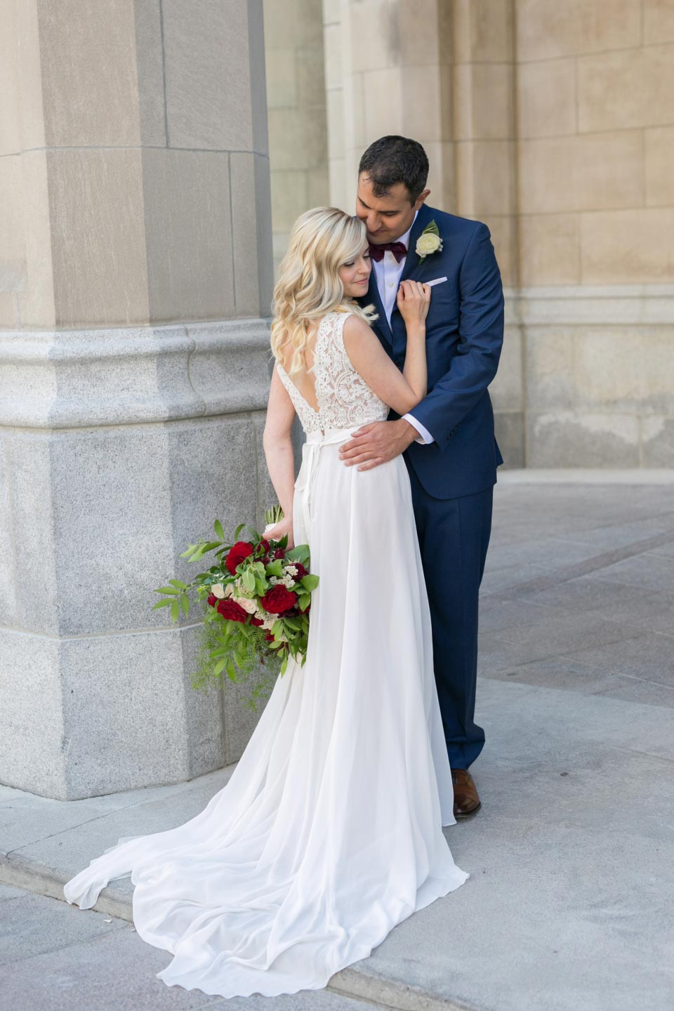 Bride and Groom Chateau Laurier | TwentyTwo Westin Ottawa |  Melanie Rebane Photography