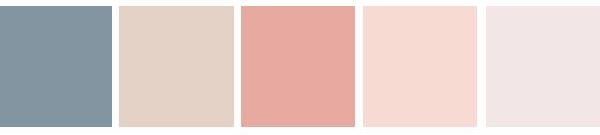 Colours to inspire. Neutral isn't boring!