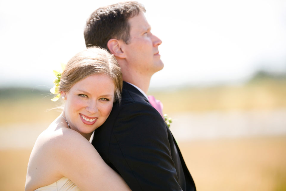 Couple in wheat field | Private residence in Carp Ontario | Union Eleven Photographers