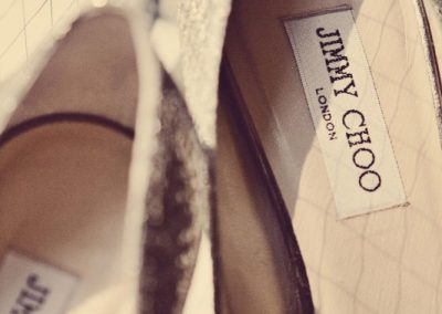 Jimmy Choo bridal shoes | Sala San Marco | Renaissance Studios