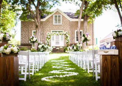Stone farmhouse ceremony | Stonefields Heritage Farm | Themotions Photography