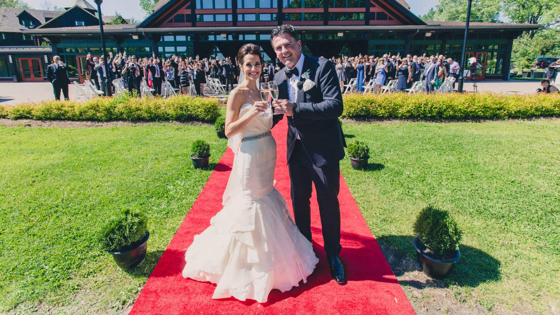 Glamorous French Inspired Wedding | Fairmont Chateau Montebello | Urban Bent Studio