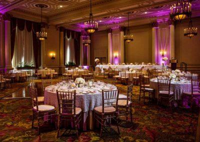 Laurier room blush and cream wedding | Fairmont Chateau Laurier | Union Eleven Photographers