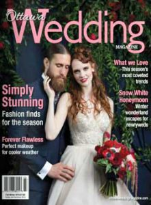 Publication in Ottawa Wedding Magazine for Wedding at The Canadian Museum of Nature | Photography by Union Eleven