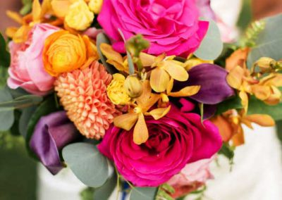 Pink yellow orange purple green flowers bouquet | Ottawa Hunt and Golf Club | Union Eleven Photographers